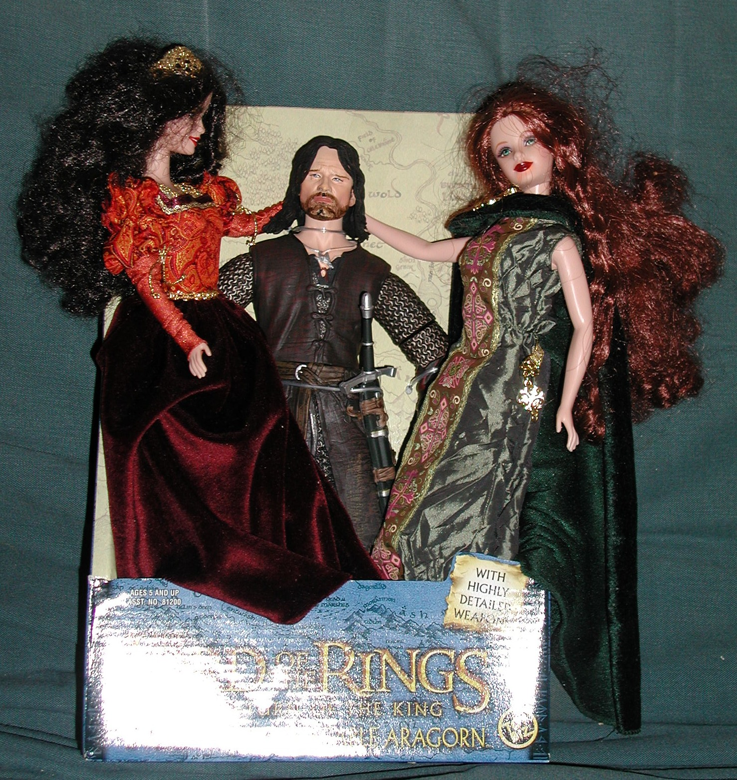 Aragorn Likes Strong Women