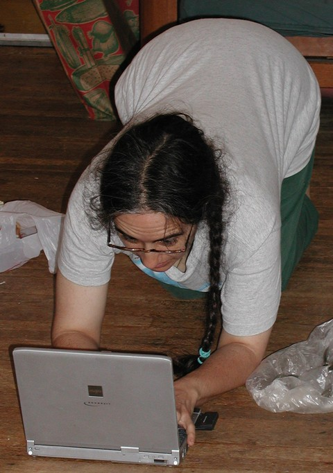 """Geek Babe"", probably around late 2003"