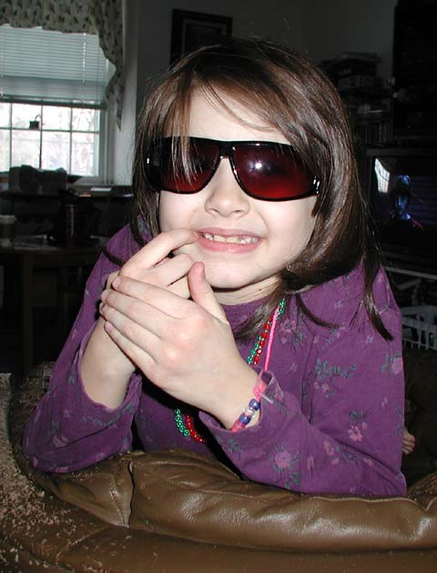 Mariel and cool shades